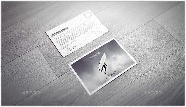 Postcard / Invitation / Flyer Mock-up