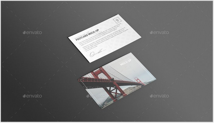 Postcard & Invitation Mock-up