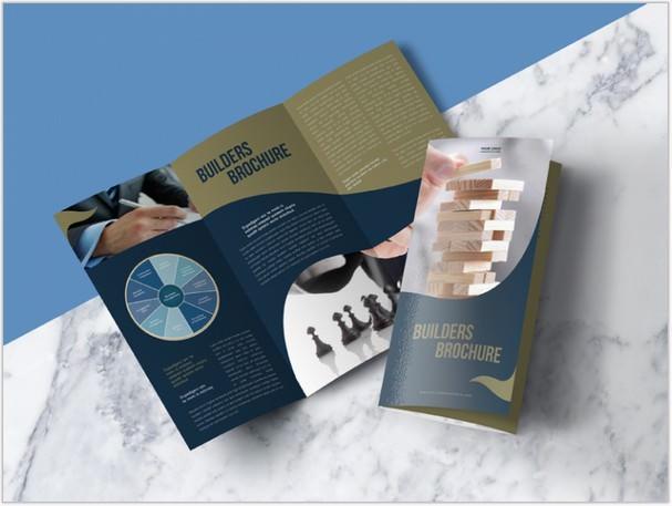 Premium Tri-Fold Brochure Mock-up