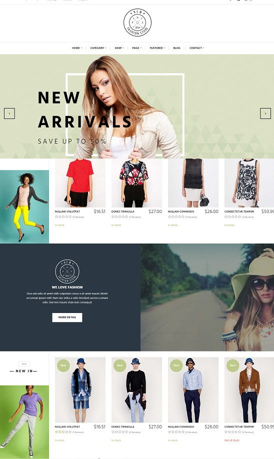 Pts NewFashion - Prestashop Themes