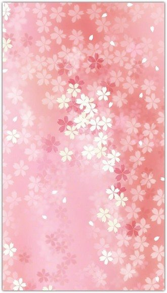 Pure Dreamy Pink Flower Pattern Background