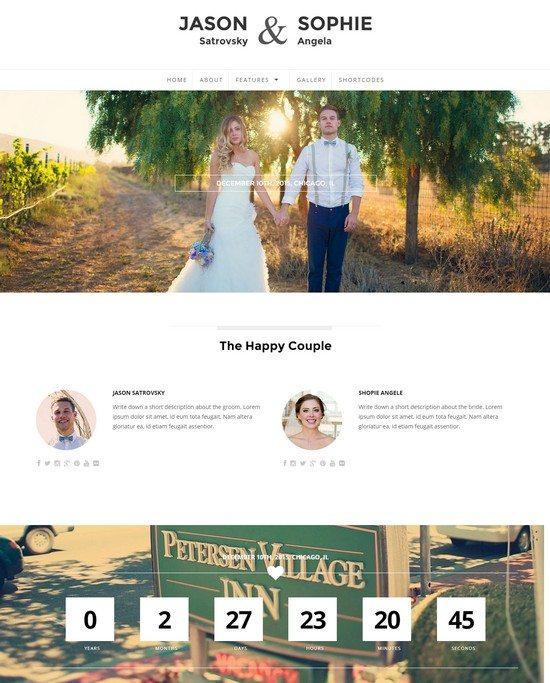 Qaween - Responsive WordPress Wedding Theme