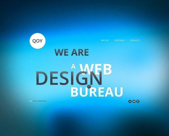 Qoy Design Studio Website Template
