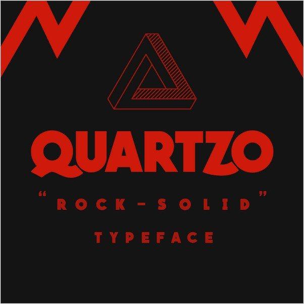 Quartzo Demo Font