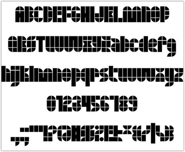 Quasoid font