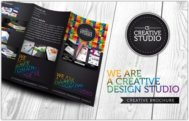 RW Creative Colourful Brochure