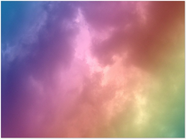 Rainbow Cloud Texture
