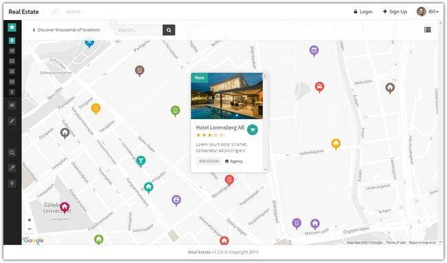 Real Estate - HTML, Angular & RTL Listing Template