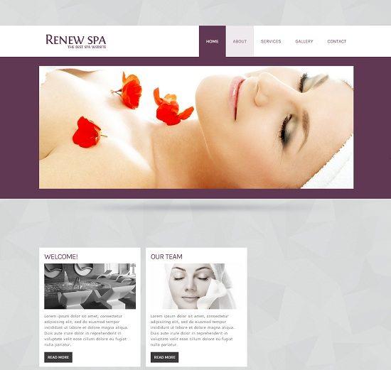 Renew-Spa-Beauty-Parlour-Mobile-Website-Template