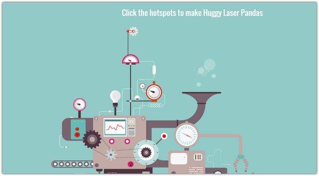 Responsive Huggy Laser Panda Factory