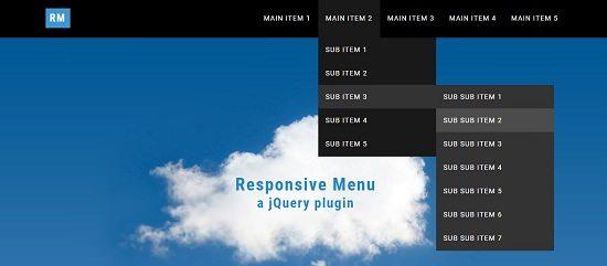 Responsive Menu Jquery Plugin