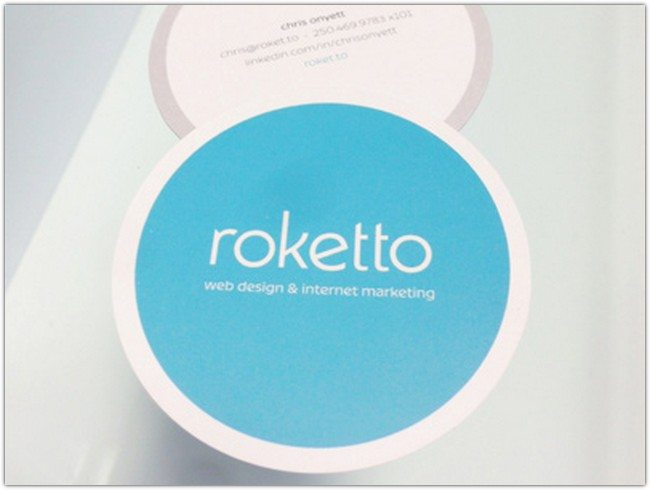 Roketto Business Cards