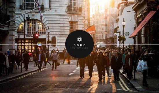 SOHO – Fullscreen Photo & Video WordPress Them