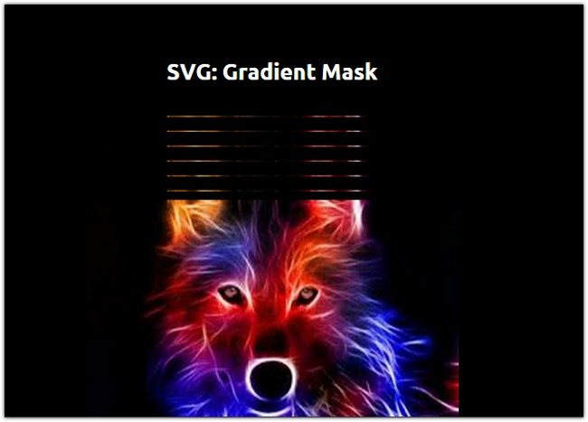 SVG Gradient Mask