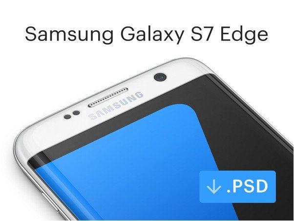 Samsung Galaxy Android Mockup