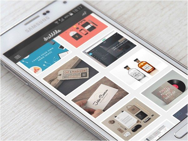 Samsung Galaxy S5 PSD Mock-up