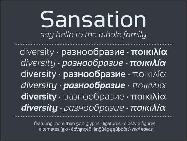 Sansation Font