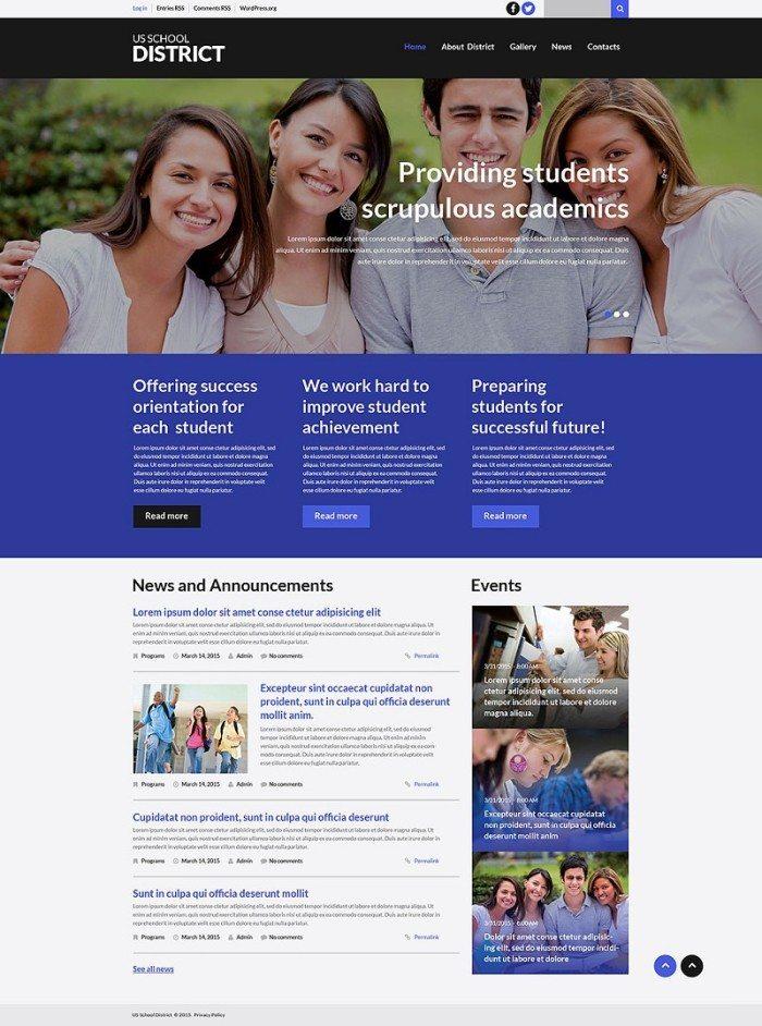 Schooling WordPress Theme