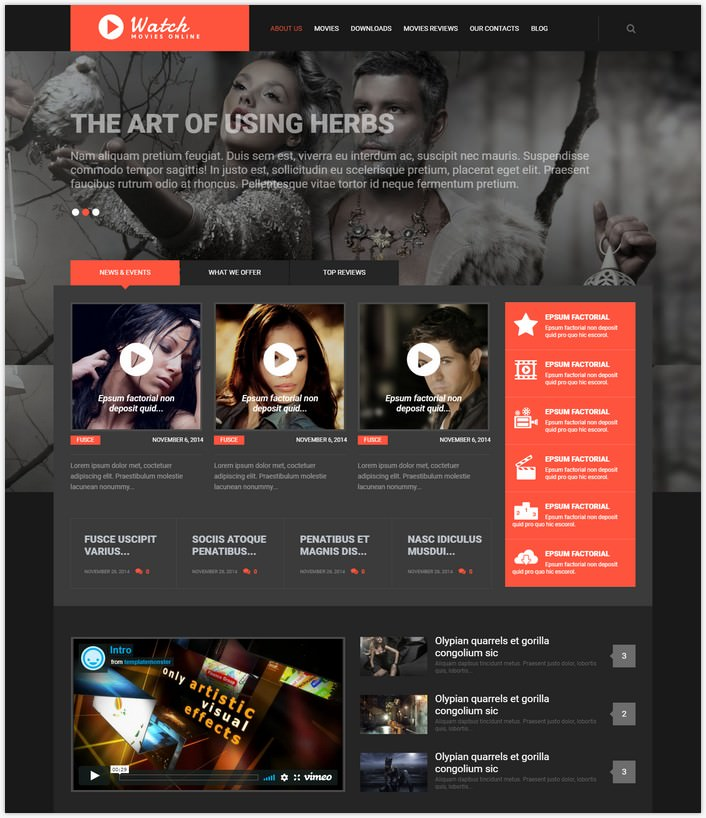 Sculpture Responsive WordPress Them