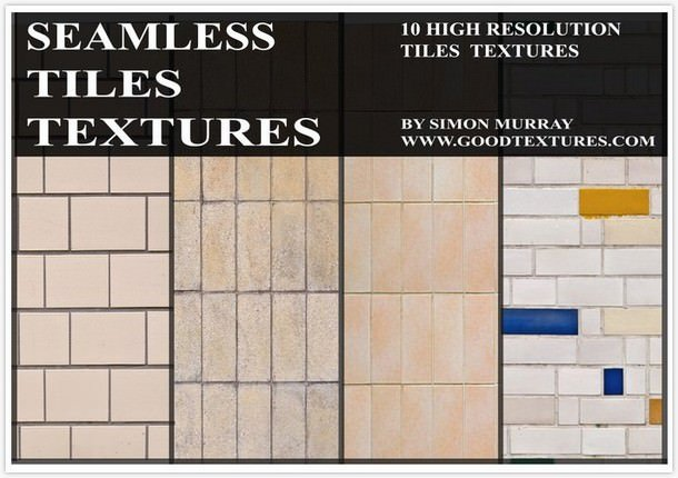 Seamless Ceramic Tiles Textures