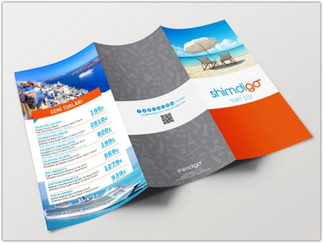 Shimdigo Tri Fold Brochure