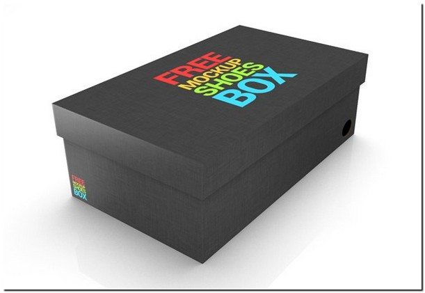 Shoe Box Mock up