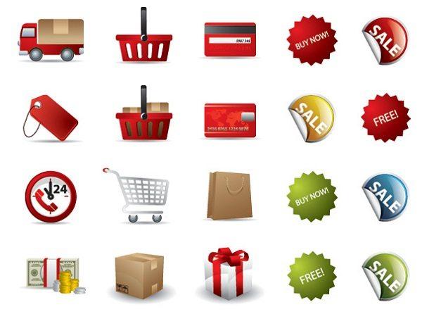 Shopping-Vector-Icon-Set