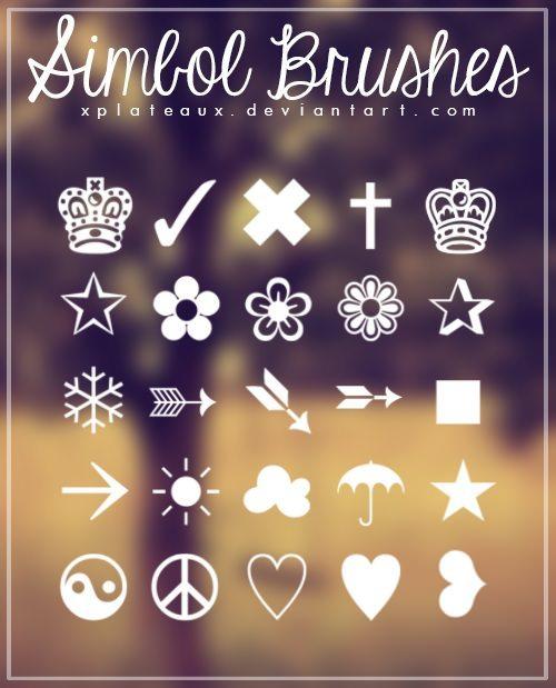 Simbol Brushes