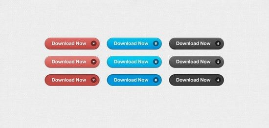 Simple-Download-Buttons-PSD
