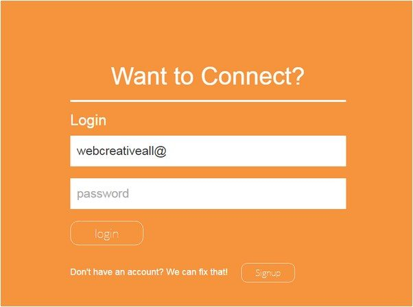 Simple Login Placeholder Transition