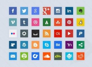 HTML CSS3 Social Media Button