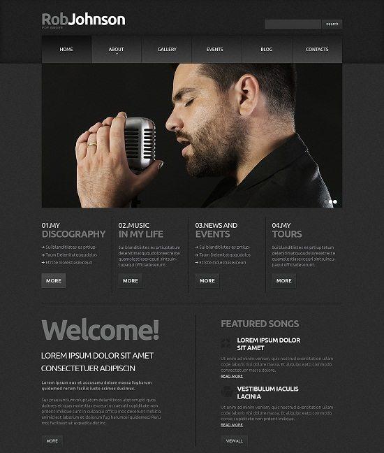 Singer Responsive Joomla Template