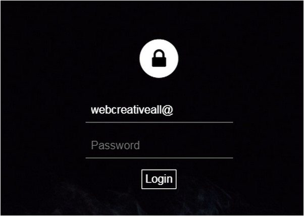 Sleek Login Form