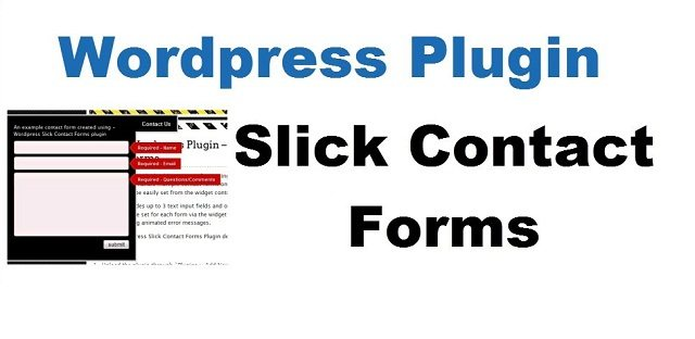Slick Contact Forms free