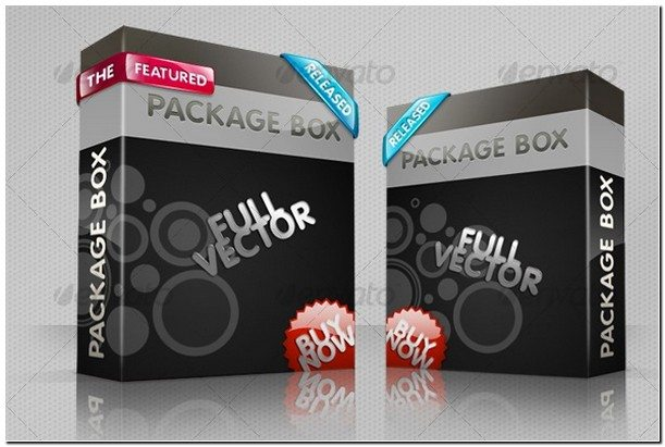 Smart 3D package box