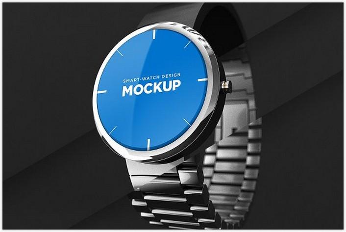 Smart-watch Design Mockup
