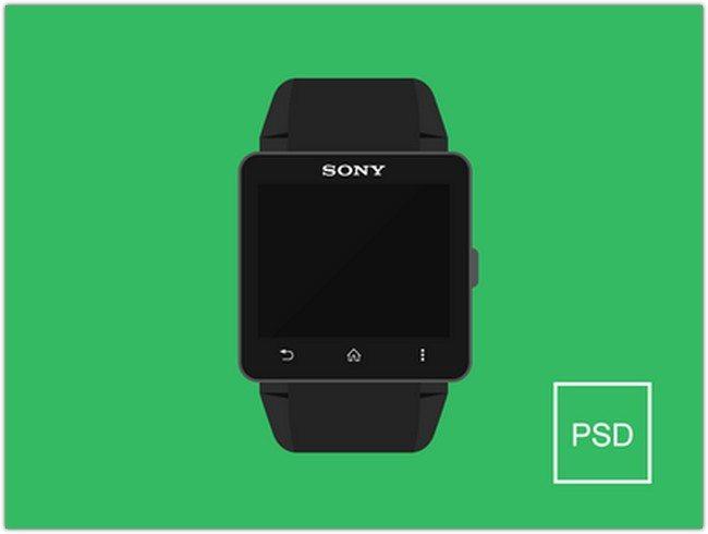 Smartwatch 2 Free PSD