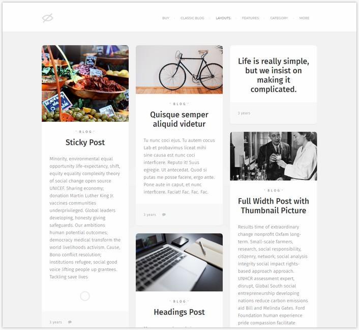 Soda — Clean Responsive Blog WordPress Theme