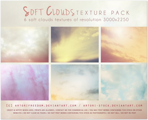 Soft Clouds Texture Pack