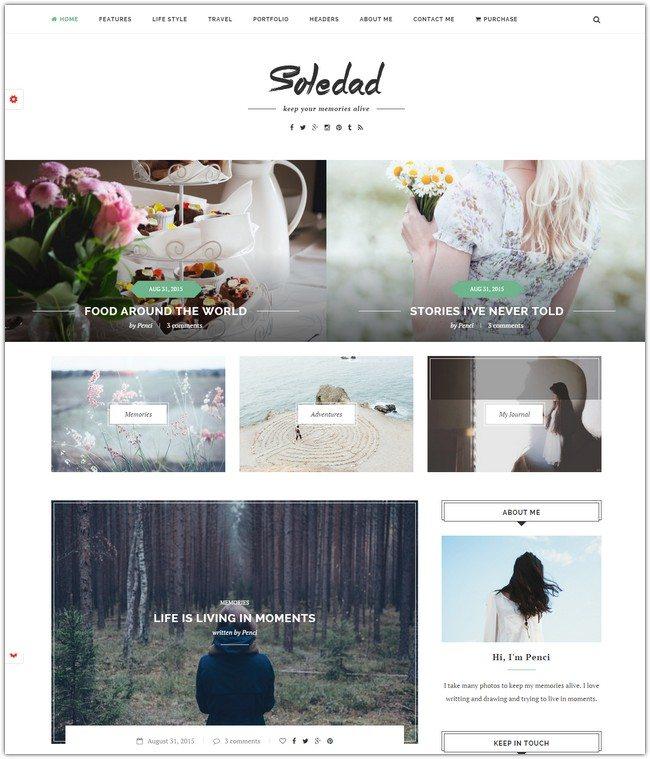 Soledad - Multi-Concept Blog Magazine WP Theme