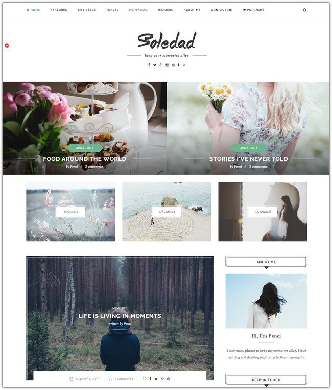 Soledad - Multi-Concept Blog Magazine WP Theme