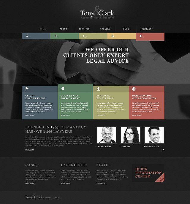 Solid Law Firm WordPress Themes