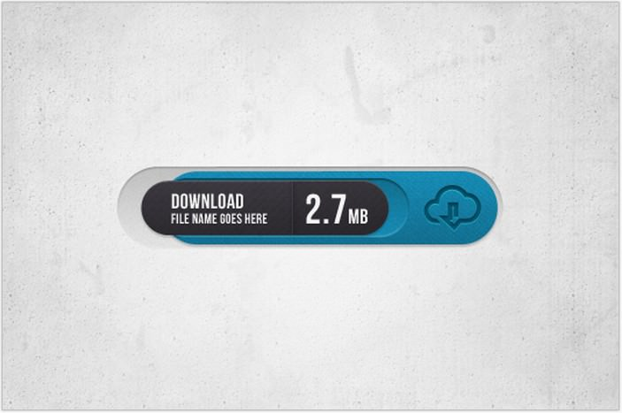 Sophis Download Button PSD