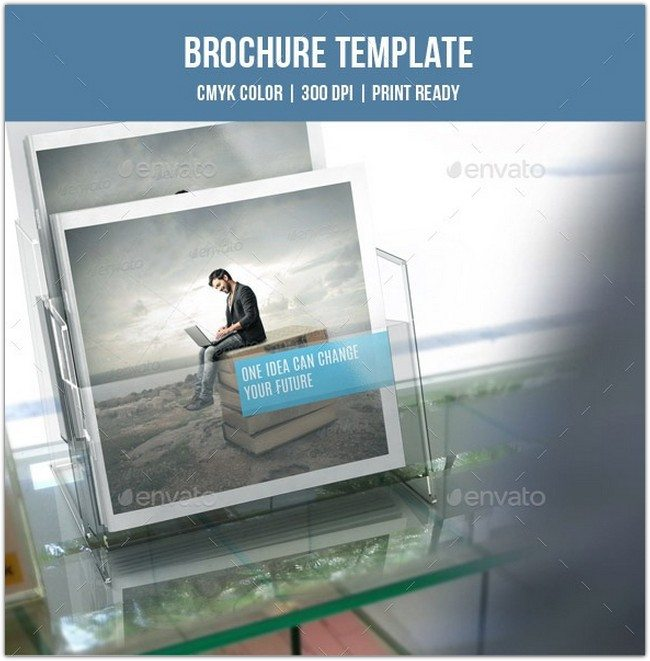 Square Bifold Business Brochure-V170