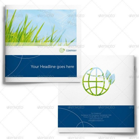 Square Corporate Image Brochure - 36 Pages