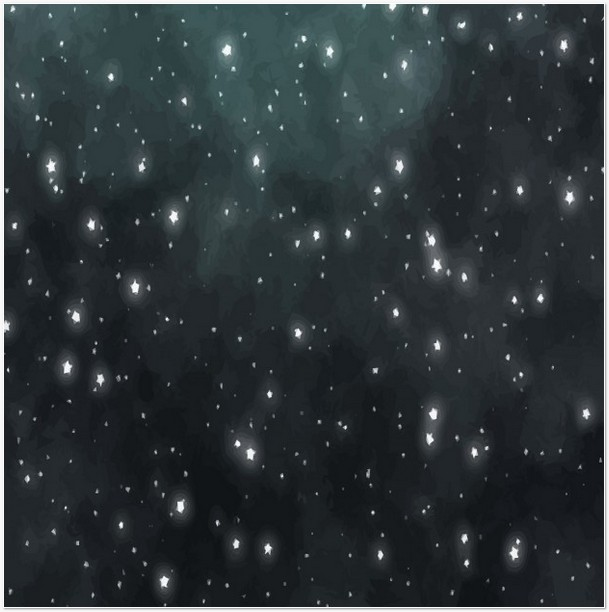 Star-Filled Night Sky Texture