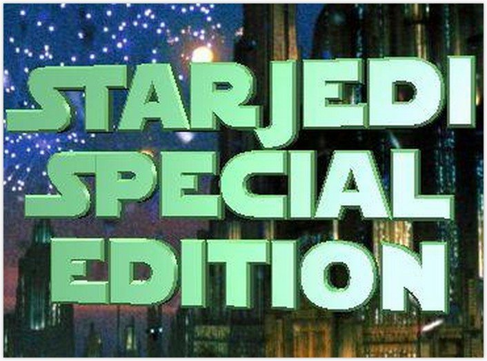 StarJedi Special Edition font - by Boba Fonts