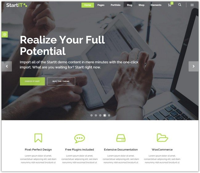 Startit A Fresh Startup Business Theme