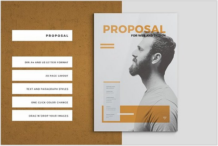 Startup Proposal Pitch Pack Brochure