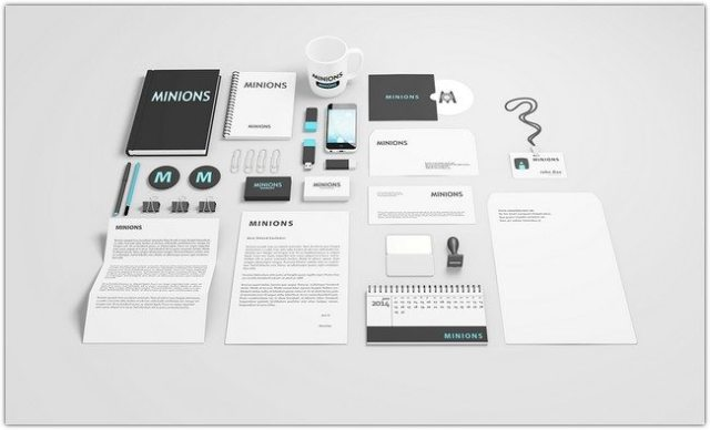 Stationery PSD Mockups